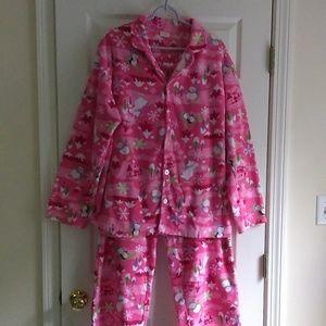 Ladies Sz Large Children's Place Fleece PJs